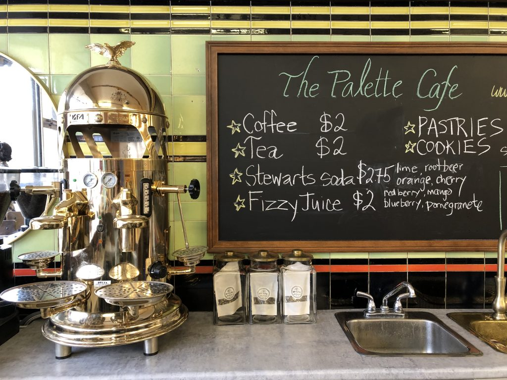 The Palette Cafe Interior
